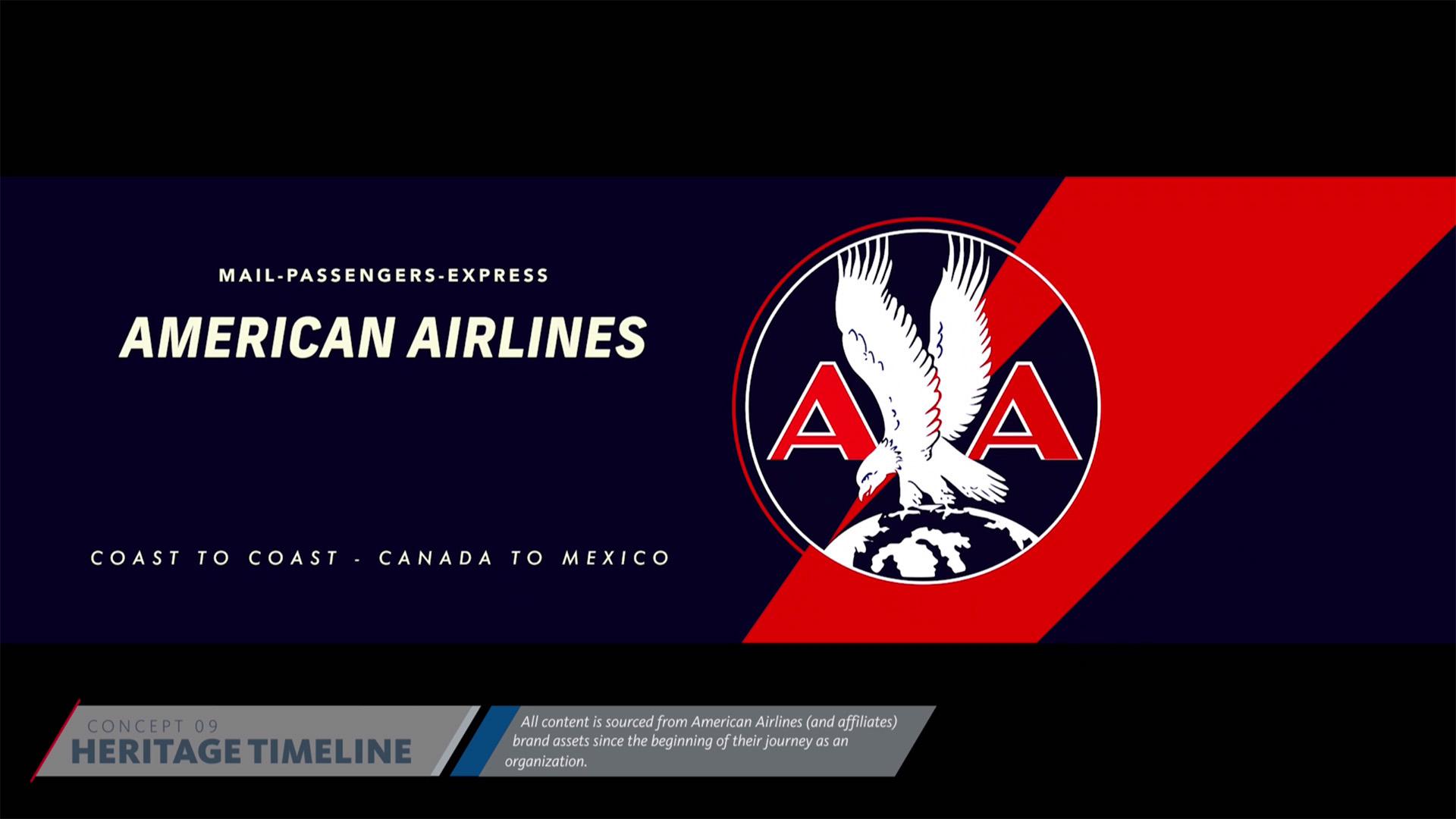 American Airlines Heritage Timeline