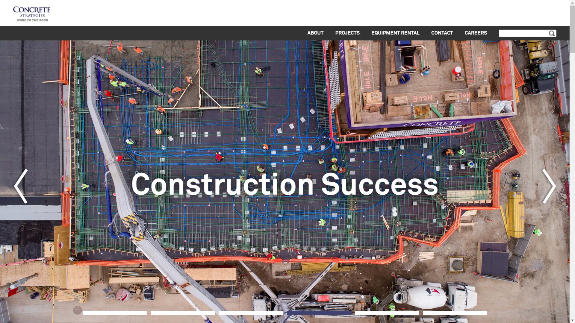 Concrete Strategies Homepage