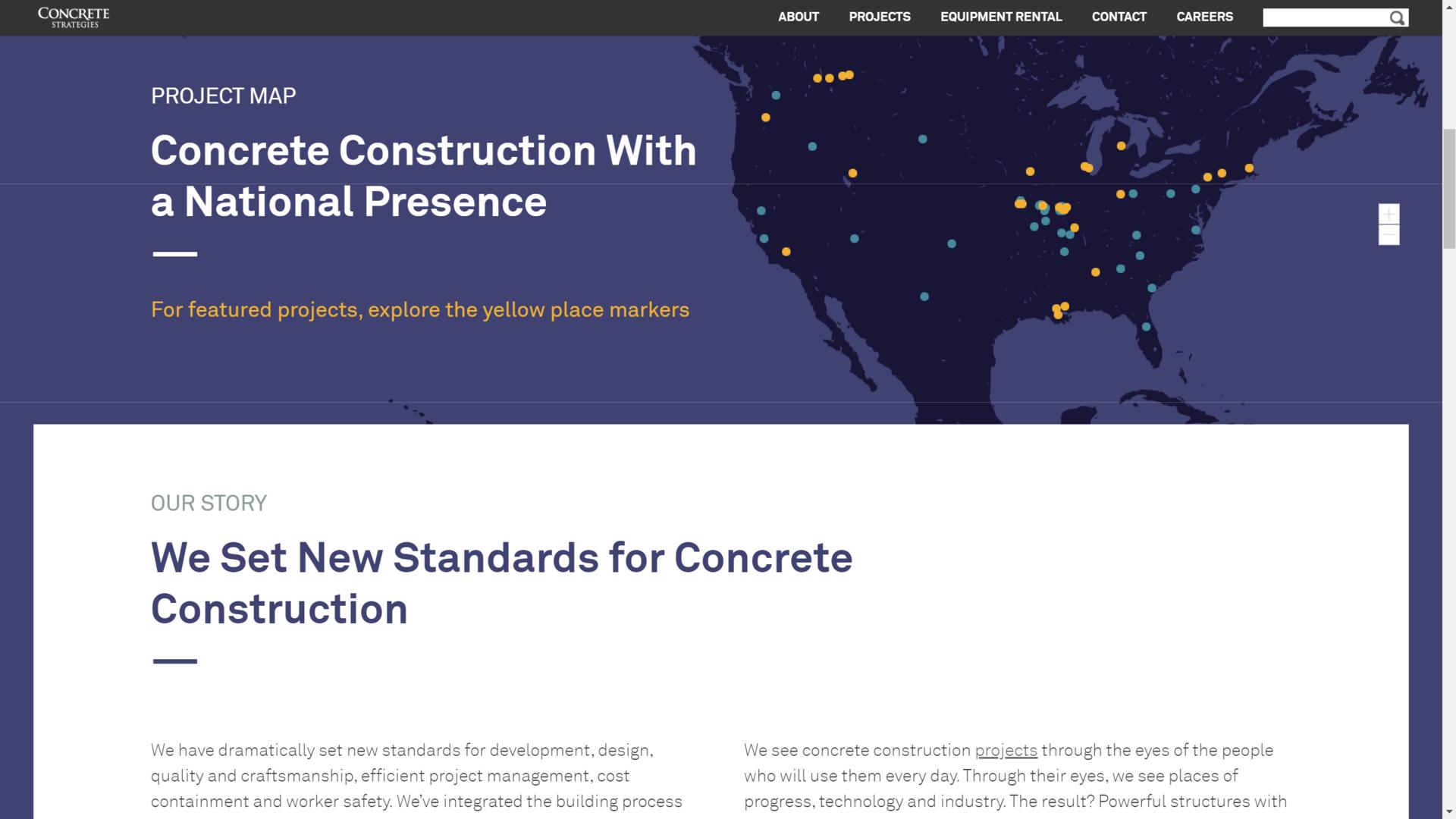 Concrete Strategies Map