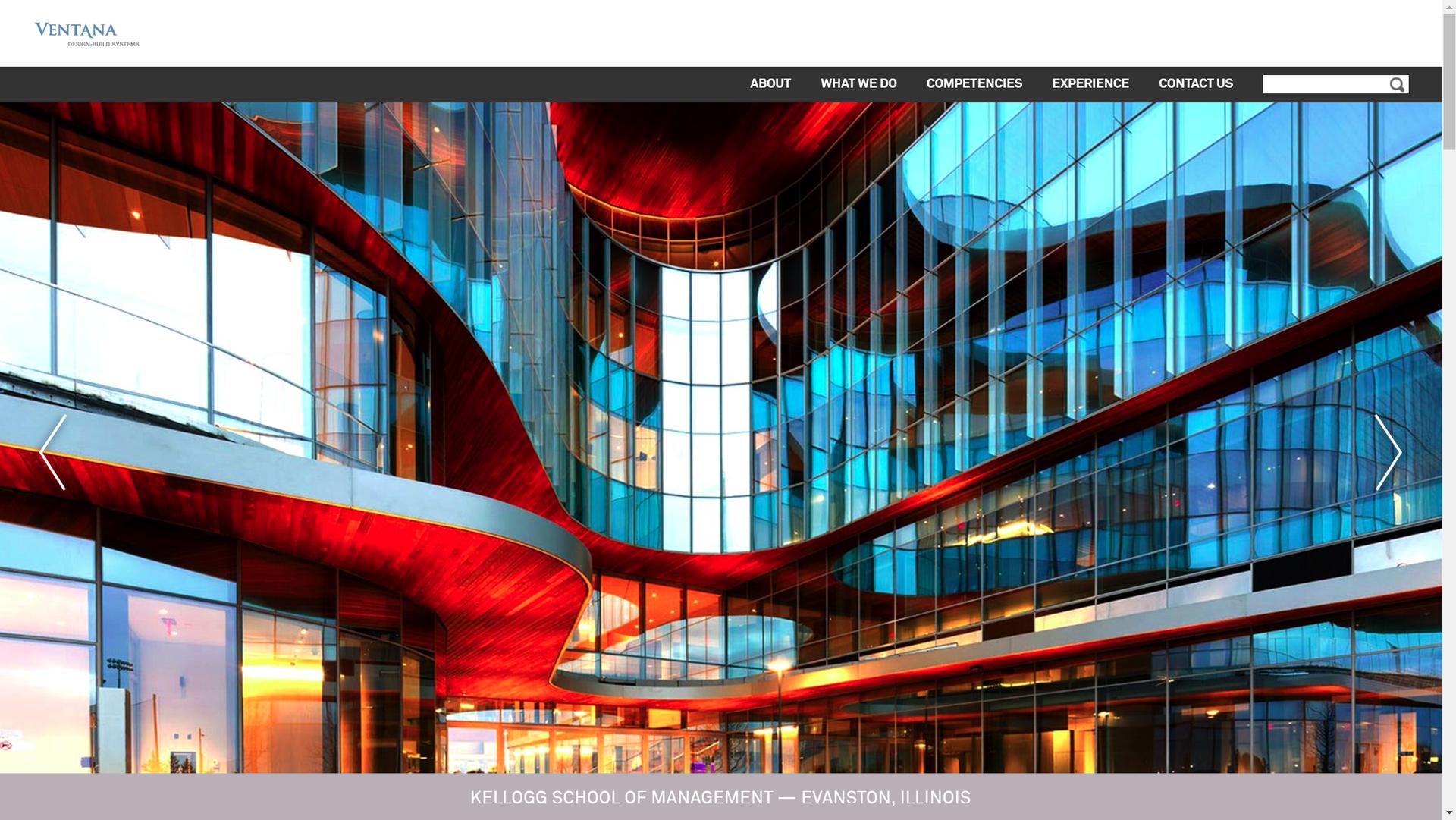 Ventana Homepage